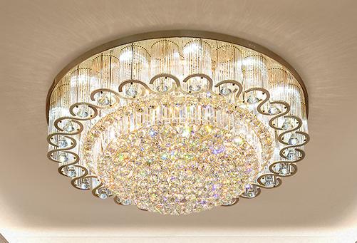 圆形遥控调光LED吸顶灯